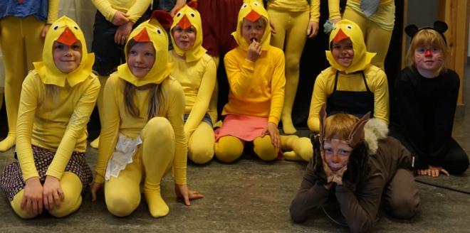 Barneteater i Skjåk